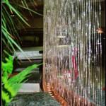 Fadenbrunnen Wasserspiel Seitenansicht