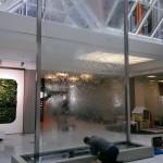 Wasserwand Glas Kreissparkasse Groß-Gerau