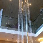 8 Eck Fadenbrunnen Wasserfall 5m hoch