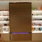 Wasserwand reinigt Luft in Parfümerie