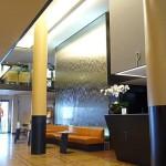 Wasserfall Wasserwand im Central Hotel Zürich
