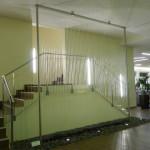 Fadenbrunnen Wasserwand im Fitness-Studio