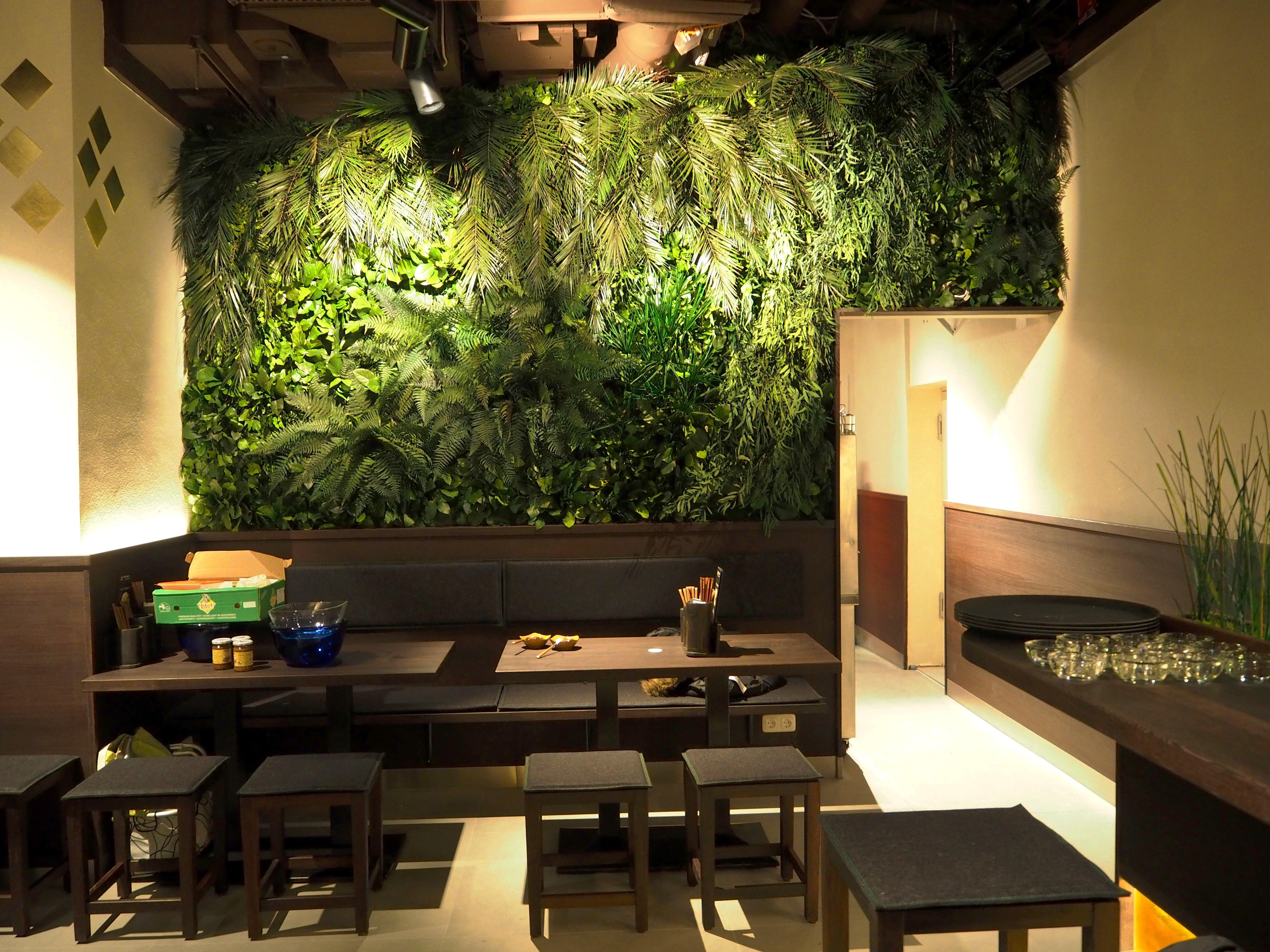 Bilder von Grünen Wänden - Wawatec System